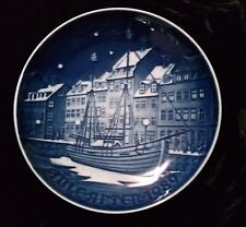 Bing & Grondahl 1989 Christmas In Anchorage Annual Plate