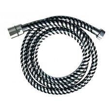 flexible 2 m Manguera de ducha para conexiones de 1-2 pulgadas bremermann pl/ástico cromo//transparente manguera de ducha