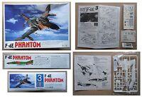 F-4E PHANTOM Jet Fighter NORTHROP F4 F4E model kit modellismo vintage Lee 1/144