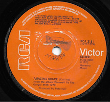 BAND OF THE ROYAL SCOTS DRAGOON GUARDS - AMAZING GRACE /CORNET CARILLON - 1972