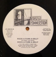"Rock A Funk A Billy Self Titled  12"" Single 1984 Electro Funk Vinyl Record"