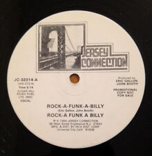 Rock A Funk A Billy 12 Inch Vinyl Record PROMO 1984 Jersey Connection JC-32014