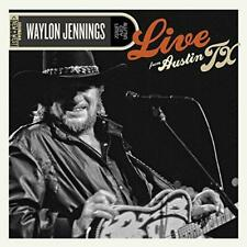 Waylon Jennings - Live From Austin TX 89 (NEW 2 VINYL LP)