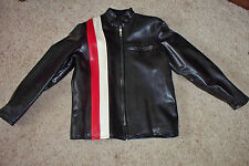Rare Anderson Kittelson 60's/70's Leather Snowmobile Motorcycle Jacket M Japan