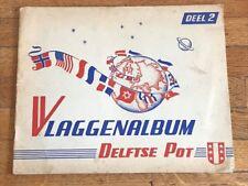 Album figurine BANDIERE 1950 COMPLETO N 2 drapeaux flag usa vaticano russia euro