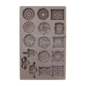 Prima Marketing Silicone Mould Mold ETRUSCAN ACCENTS Food Resin Clay Chocolate