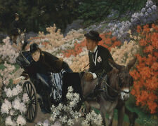 The Morning Ride James Tissot    24'  CANVAS