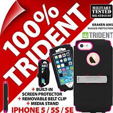 Neuf Trident Kraken Ams Résistant Etui Robuste pour Apple Iphone 5/5s / Se