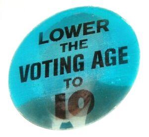 1968 ROBERT F. KENNEDY BOBBY RFK FLASHER VARIVUE campaign pin pinback button