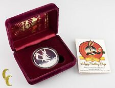 "Warner Bros Bugs Bunny ""What's Up Doc?"" 50th Birthday 1 oz Silver Round w/ CoA"