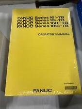 Fanuc Series 16i/18i/160i/180i Tb Operator'S Manual B-63524En/01 *New*