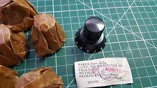 8 x Vintage Bush Radio Knobs , AUG 1956  , 10AK / 162 , 6mm shaft