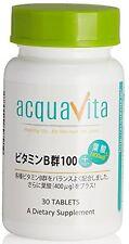 acquavita Vitamin B complex Folic acid 400μg 30 Grains Health Beauty Japan