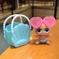 LOL Surprise LiL Sisters L.O.L. Merbaby & Bag THEATER CLUB SERIES 2 dolls Toys