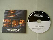 A SCANNER DARKLY Film Soundtrack 2017 promo CD album Graham Reynolds