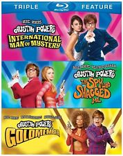 Blu Ray AUSTIN POWERS 1 2 & 3 movie collection 3 movies. Region free. New.