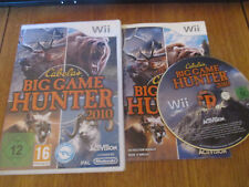 Cabela's Big Game Hunter 2010 ~~ Jeu WII Complet