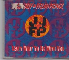 Jazzy Jeff&Fresh Prince-Cant Wait To Be With You cd maxi single