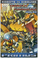 TRANSFORMERS ROBOTS IN DISGUISE ANNUAL 2012; Cover B; MT, IDW Comics Comic