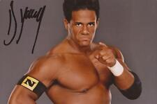 Wwe Wrestling: Darren Young Signed 6x4 Portrait Photo+Coa