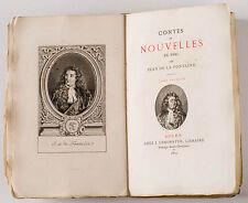 LA FONTAINE CONTES & NOUVELLES EN VERS IN 16 TOME 1 J. LEMONNYER 1879