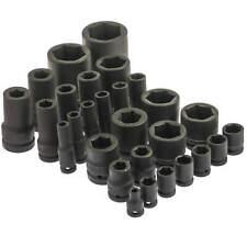 Sechskant Kraft Steckschlüssel 1/2 3/4 1 kurz lang Nuss 6-kant 8 bis 120 mm Nuss