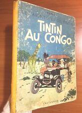 Tintin Au Congo 1946 1st Belgian Colour Edition Originale EO Herge