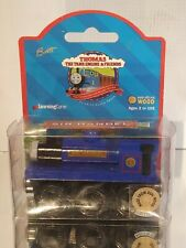 1998 Thomas Train Friends Sir Handel Wooden Railway Mint on Card LearningCurve