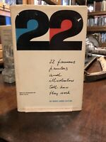 1st edition 1st printing 22 Famous Artists And Illustrators Tell How They Work!!