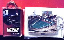 Football Greats Keychains-Ny Giants, Dan Marino,Jerry Rice