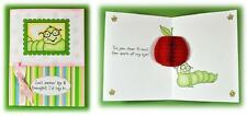 Inky Antics Clear Stamps - Caterpillar - Friend, Apple, Book Worm & Honeycomb