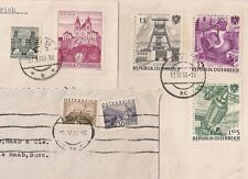 3 COVERS  AUTRICHE AUSTRIA TO FRANCE. L558