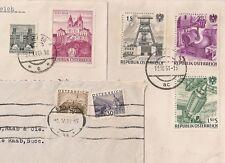 3 COVERS  AUTRICHE AUSTRIA TO FRANCE. L558