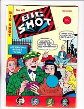 "Big Shot No.69   : 1946 :   : ""Joe Palooka Arrives To-Day"" :"