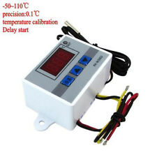 24V Digital Temperaturregler Thermostat LED Controller Temperatur Regler+ Probe