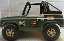 Large First Strike Military Jeep American Plastic Toys