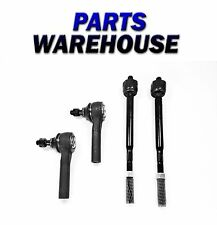 4 Pc Kit Tie Rod End Inner & Outer For Dodge Gran Caravan 2005-2007 2Yr Warranty