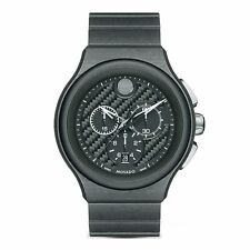 Movado 0606929 Men's PARLEE Black Quartz Watch