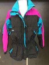 Vintage 90s Columbia Gizzmo Interchange Ski Jacket Coat Shell Women's Sz Large