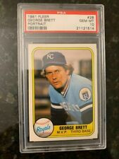 1981 Fleer Baseball #28 GEORGE BRETT..............PSA 10!