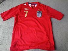 Beckham England Shirt Kids Small