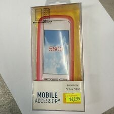 Nokia 5800 TPU Jelly Case Cover in Pink JCNOK5800Pl. Brand New in Original pack.
