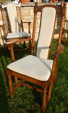 ERCOL HAMPTON GOLDEN DAWN DINING CHAIRS -ALL CARVERS - SET of 4 - type 994A