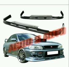 Subaru Impreza P1 Front Splitter Lip Facelift | 99-01 | OEM Plastic | STi Type R