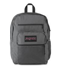 New JANSPORT BIG CAMPUS BACKPACK Deep Grey SCHOOL BOOK BAG - 100% AUTHENTIC