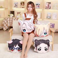 YURI!!! on ICE Victor Katsuki Yuri Otabek Anime Pillow Stuffed Plush Doll Toy