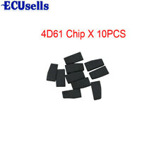 10PCS X for MITSUBISHI Key Immobilizer Transponder Chip ID4D-61 T19 ID4D61