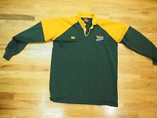 Long Sleeve SA South Africa Rugby Jersey size XL  Canterbury
