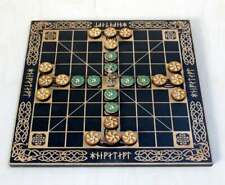 Hnefatafl (Tablut) Vikings Board Game, Scandinavian Game