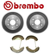 For Chevy Silverado 1500 Classic GMC Rear Brake Kit Drums and Shoe Set Brembo